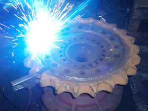 Idler repair - Repairing subassemblies -
